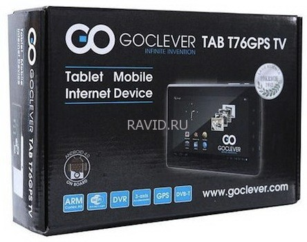 GoClever Tab T76 GPS TV-1